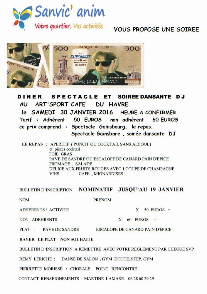 Soirée Gainsbourg
