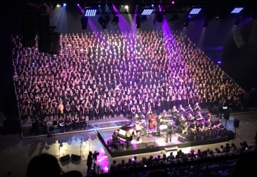GRAND CONCERT DES 1200 CHORISTES 02 ET 03 JUIN 2018
